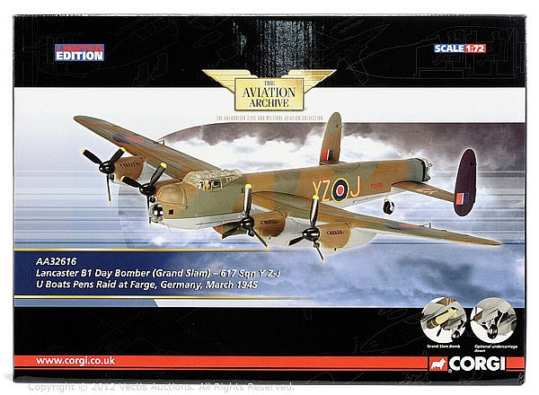 Corgi The Aviation Archive LE 1/72nd scale