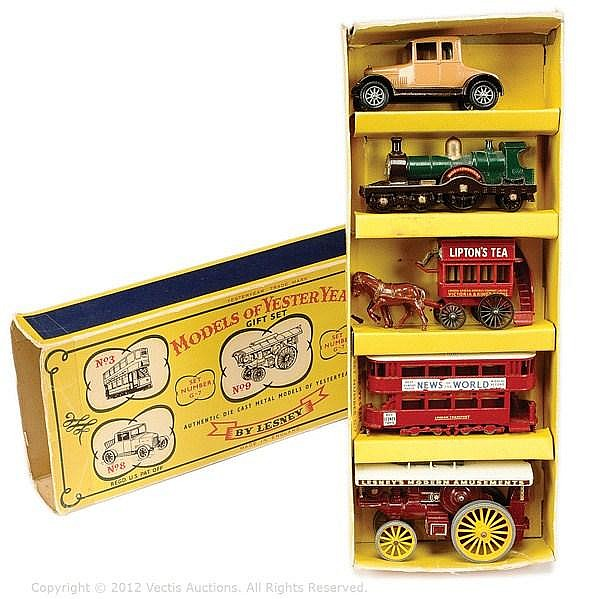 Matchbox Models of Yesteryear No.G7 Gift Set