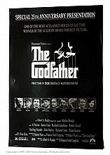 The Godfather (1972, R-1997). One Sheet Film
