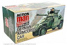 Action Man German Armoured Car. Sealed