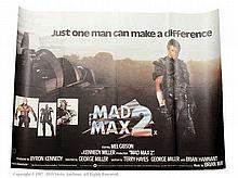 Mad Max 2 (1981). UK Quad Film Poster. Single