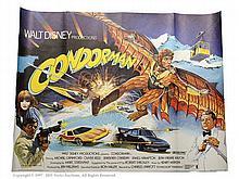 Condorman (1981). UK Quad Film Poster. Single