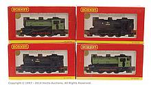 GRP inc Hornby (China) OO Gauge 4 x Tank locos