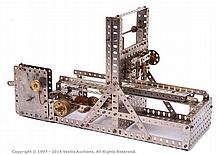 Meccano Model of a Planing Machine in 1920s