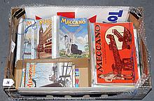 QTY inc Meccano Magazines, instructions