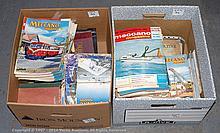 QTY inc Meccano magazines bound volumes