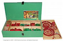 Meccano various Pre and Post-War red/green parts
