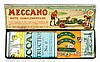 Meccano Set 00A in original card box with lift