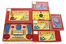 GRP inc Meccano various 1950's Sets: 3A (French