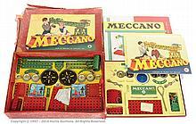 PAIR inc Meccano Set No.6 1950's red/green