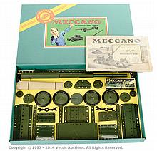 Meccano Pre-War Set MA Mechanised Army Outfit