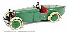 Meccano No.2 Constructor Car, green/cream