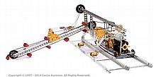 Meccano Model of a Travelling Bucket Dredger