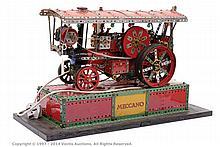 Meccano Shop window display model of a Showmans
