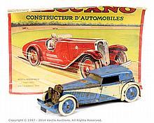 Meccano (France) No.1 Constructor Car, blue