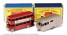 PAIR inc Matchbox Regular Wheels No.5C London