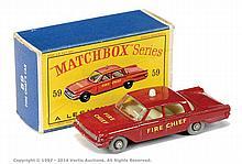 Matchbox Regular Wheels No.59B Ford Fairlane