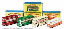 GRP inc Matchbox Regular Wheels Buses No.5D
