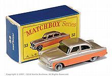Matchbox Regular Wheels No.33A Ford Zodiac