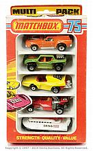 Matchbox Superfast No.MP1 set comprised