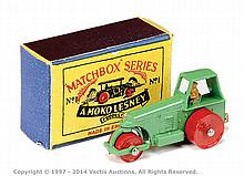 Matchbox Regular Wheels No.1B Aveling Barford