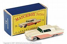 Matchbox Regular Wheels No.75A Ford Thunderbird