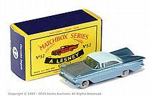 Matchbox Regular Wheels No.57B Chevrolet Impala