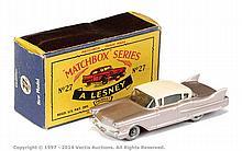 Matchbox Regular Wheels No.27C Cadillac Sixty