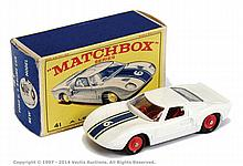 Matchbox Regular Wheels No.41C Ford GT - white