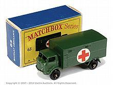 Matchbox Regular Wheels No.63A Ford Military