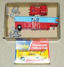 PAIR inc Dinky No.278 Plymouth Yellow Cab