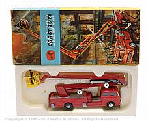 Corgi No.1127 Simon Snorkel Fire Engine - red