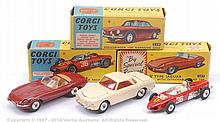 GRP inc Corgi boxed Car - No.307 Jaguar E-type