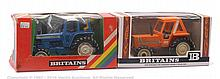 PAIR inc Britains No.9523, 9528 Boxed Tractor