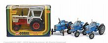 GRP inc Corgi Farm Tractor - No.55 David Brown