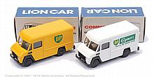 PAIR inc Lion Toys Commer Delivery Van - white