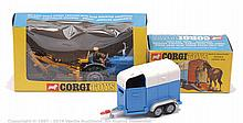 PAIR inc Corgi Tractor and Horsebox - No.72 Ford