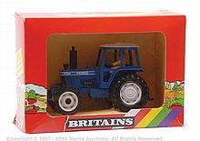 Britains Ford 7710 Farm Tractor - blue, white