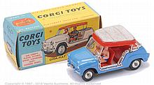 Corgi No.240 Ghia Fiat 600 Jolly - mid blue