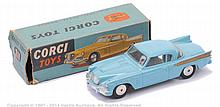Corgi No.211 Studebaker Golden Hawk - light