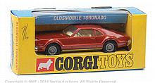 Corgi No.276 Oldsmobile Toronado, brown, cream