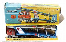 Corgi No.1138 Ford Car Transporter - red, grey