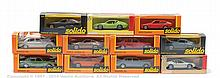 GRP inc Solido Boxed Car - 4 x No.147 Mercedes