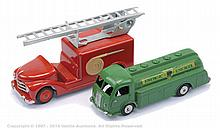 PAIR inc CIJ Tanker and Fire Engine - Renault