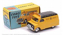 Corgi No.408 Bedford Van - deep yellow body