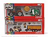 PAIR inc Britains No.9651, 9656 Farm Tractor Set