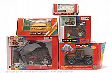 GRP inc Britains Farm Tractor and Implement