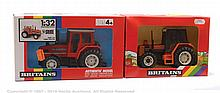 PAIR inc Britains 9503, 9518, Farm Tractor