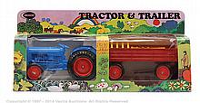 Crescent No.1811 Ford Tractor and Trailer Set