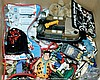 QTY inc Quantity of assorted figures and toys